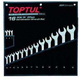 Набор ключей комбинированных 16 шт 7-32 Hi-Performance GPAX1601 TOPTUL