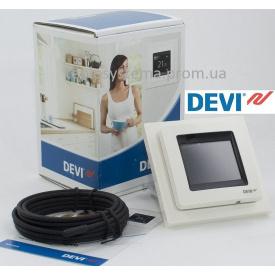 Програмований сенсорний терморегулятор Devireg™ Touch білий