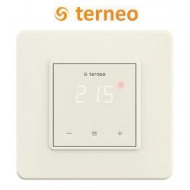 Терморегулятор для теплої підлоги TERNEO S сенсорний DS Electronics Слонова кістка