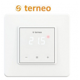 Терморегулятор для теплої підлоги TERNEO S сенсорний DS Electronics Білий