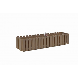 Вазон Plastkon FENCY 75х18,5х17 см серо-коричневый (32824)