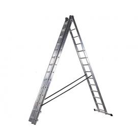 Трехсекционная лестница VIRASTAR DW 3 PROFI LIGHT 3x14 ступеней