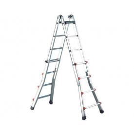 Телескопическая лестница SVELT SCALISSIMA 7+7 ступеней