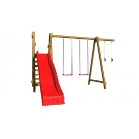 Детская площадка из дерева SportBaby 3