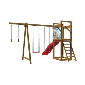 Детская деревянная площадка SportBaby 4