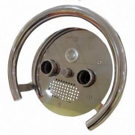 Лицьова панель з поручнем AquaViva для протитоку Kripsol AISI 304
