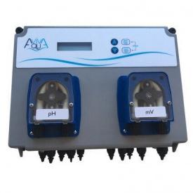 Система перистальтических дозирующих насосов AquaViva PH+RX 1,5л/ч + измерительный набор 2 шт