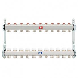 Коллектор для теплого пола Itap 1x3/4 на 11 выходов без расходомеров