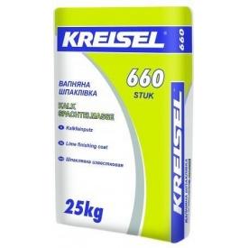 Известковая шпаклевка Kreisel 660 25 кг