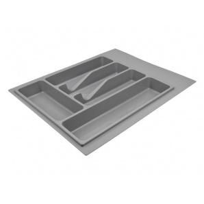 Лоток для столових приладів Volpato 390х490 сірий