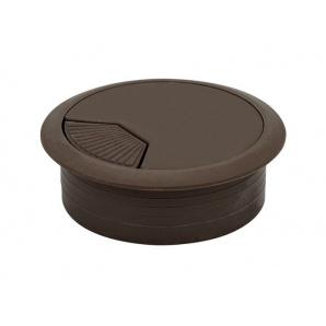 Заглушка кабельна пластикова GIFF коричневий