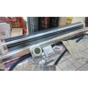 Нагрівальна інфрачервона плівка Heat Max для електричної теплої підлоги під ламінат та плитку