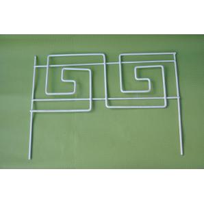 Кованый декоративный заборчик Прованс Греческая волна