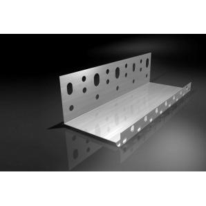 Профіль цокольний алюмінієвий 50 мм 2,5 м. п.