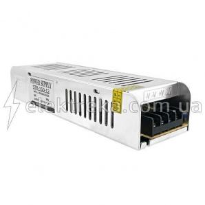 Блок живлення 150 Вт 12 B 12,5 А Slim Метал IP 20 Стандарт
