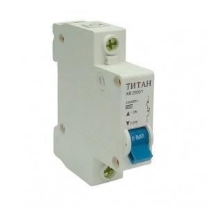 Автоматичний вимикач ТИТАН 1P 32A 6кА 230/400В тип С