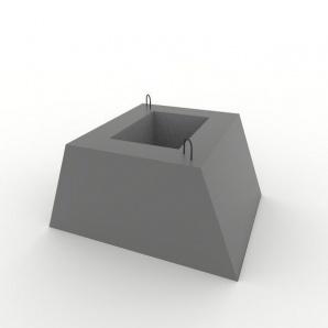 Стакан забору Ф1з 900х700х450 мм