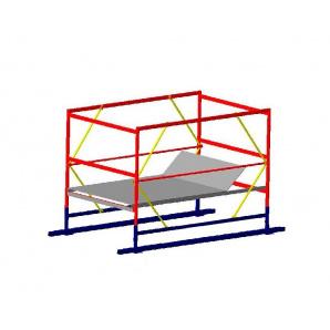 Базовий блок вишки-тури VIRASTAR ОПТИМА 2,0x1,2 м без стабілізаторів і коліс