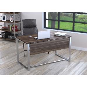 Письмовий стіл Loft design Q-135 з царгою Горіх Модена
