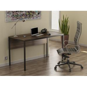 Письмовий стіл Loft design L-2p Горіх Модена