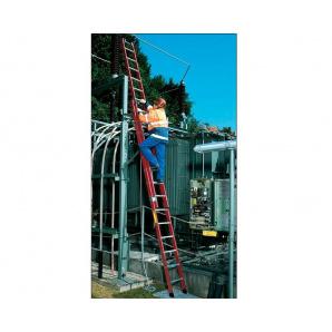 Розсувна драбина діелектрична KRAUSE 2x20 ступенів