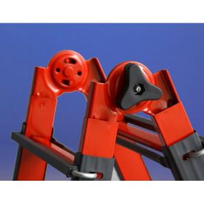 Драбина телескопічна SVELT SERAFINA 9+9 сходинок