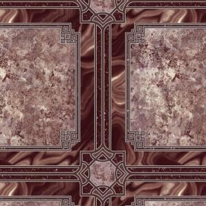 Напівкомерційний лінолеум Linoplast Etalon Плитка 443