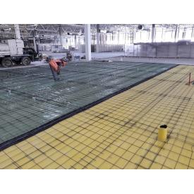Монтаж промышленного бетонного пола