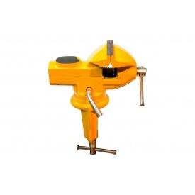 Тиски слесарные поворотные мини 60 мм 07-0202 MASTERTOOL
