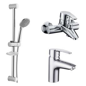 Набор смесителей для ванны IMPRESE HORAK 0510170670 хром