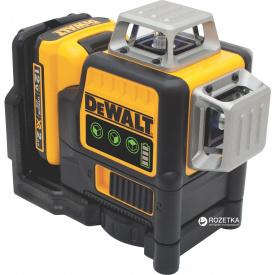 Лазер самовыравнивающийся DeWalt 3-х плоскостной