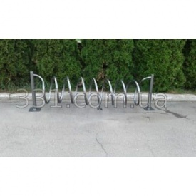 Велопарковка Спираль ИМПЕКС-ГРУП на 7 веломест 1870х500х630 мм (IMPA347)