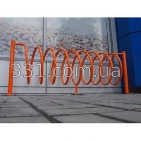Велопарковка Спіраль ІМПЕКС-ГРУП на 10 веломест 2165х500х630 мм (IMPA348)