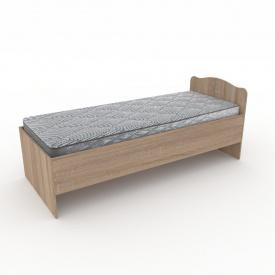 Кровать-80 Компанит 845х800х2042 мм дуб сонома