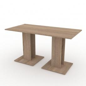 Кухонний стіл Компаніт КС-8 700х736х1400 мм дуб сонома