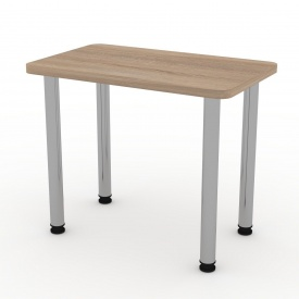 Кухонний стіл Компаніт КС-9 550х726х900 мм дуб сонома