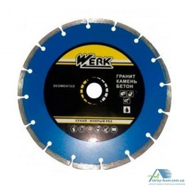 Круг Алмазный Werk Segment C3-W 125х7х22,23 мм 43570