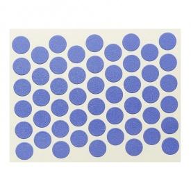 Конфирмат заглушка самоклейка WEISS синяя 9023