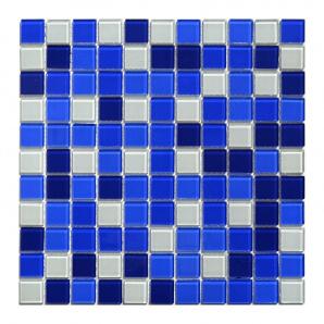 Мозаика стеклянная Aquaviva Сristall Bagama Dark DCM303 300х300 мм