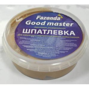 Шпаклевка для дерева Дуб 0,25 кг Fazenda Good master
