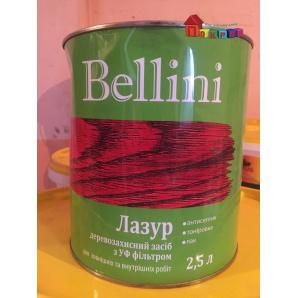 Лазурь алкидная BELLINI безцветный 2,5 л