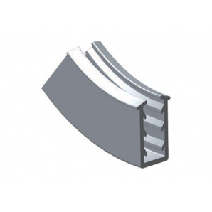 Albatur M45 1015 400 уплотнитель для стеклянной раздвижной системы, 4 мм