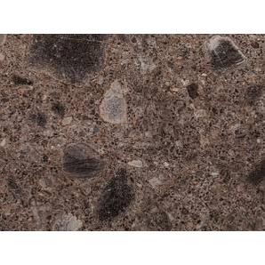 Фасад из плиты RAUVISIO Crystal decor 19 мм, глянцевый, Conglomerato scuro (конгломерат темный) 1967L
