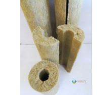 Ізоляція для труб з базальтового волокна 200 мм 60 мм
