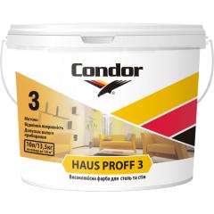 Высококачественная краска для потолков и стен Condor Haus Proff 3 10л Киев