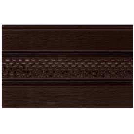 Софит ASKO NEO коричневый перфорированный 3,5 м 1,07 м2