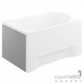 Боковая панель для прямоугольной ванны Polimat 70х54 см 00801 белая