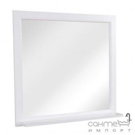 Дзеркало з поличкою Аква Родос Ліана 90 біле