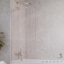 Шторка для ванни Radaway Idea PNJ 100 10001100-01-01 хром/прозоре скло