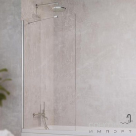 Шторка для ванны Radaway Idea PNJ 100 10001100-01-01 хром/прозрачное стекло
